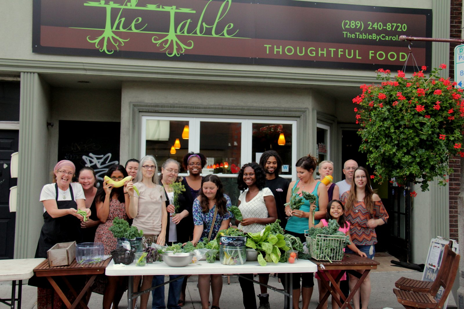 We Grow Food Trading Table ...   #FoodisFree #WeGrowFood