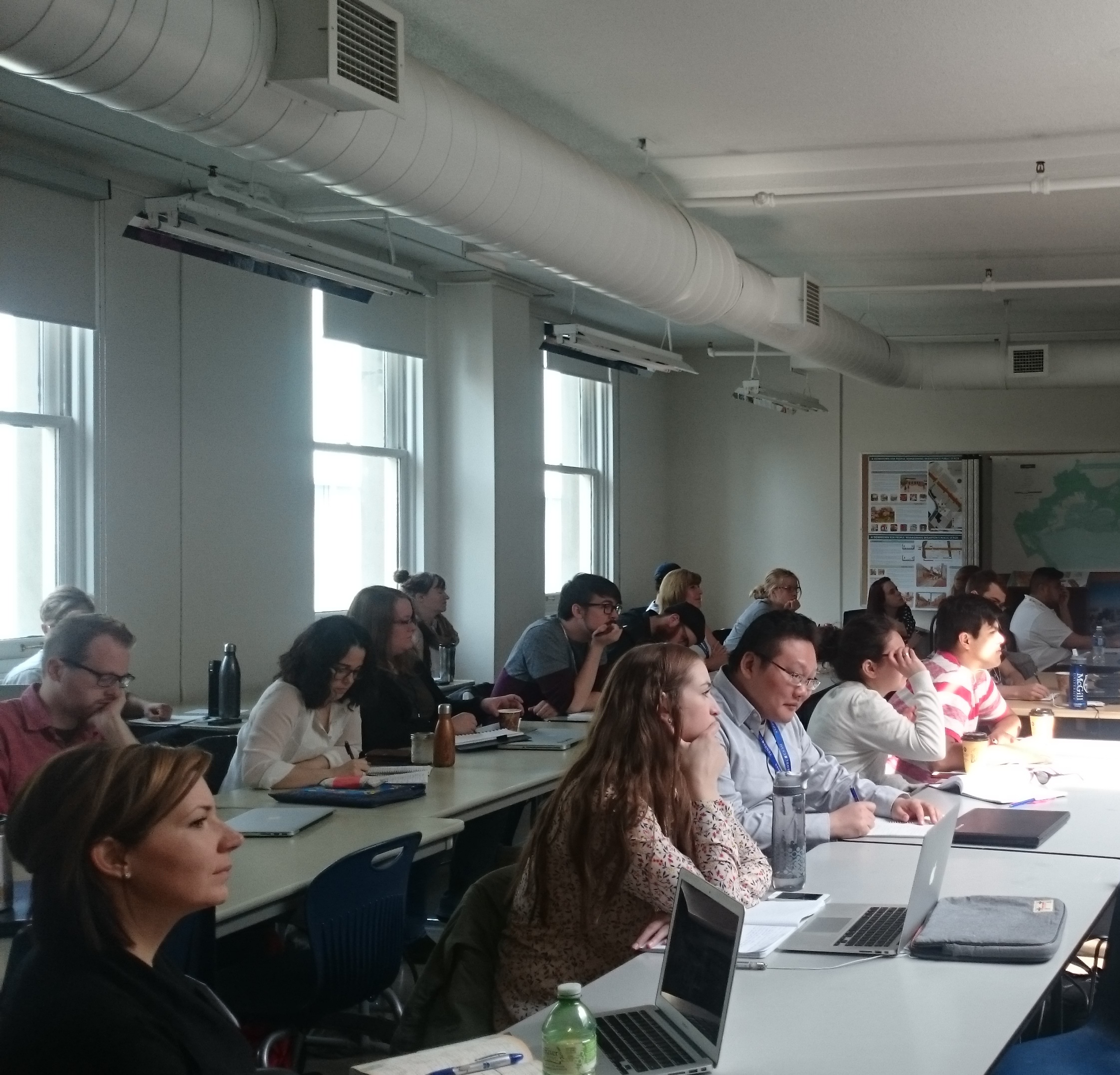 Geothink's 2016 Summer Institute took place the second week of May at Ryerson University in Toronto with 35 students in attendance.
